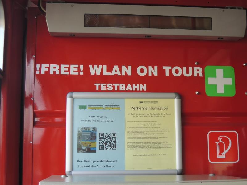 TWSB-Testwagen für WLAN