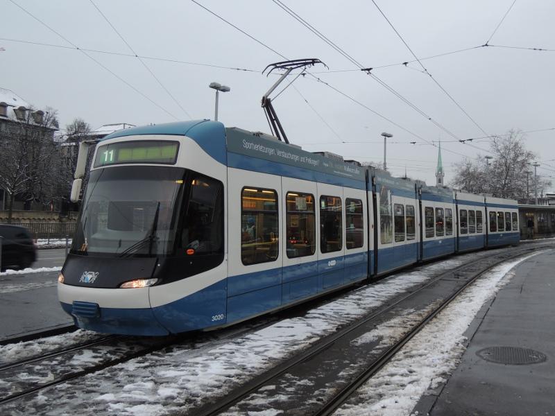 Cobra-Straßenbahn der VBZ