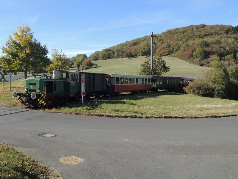 Zug der Vulkaneifelbahn