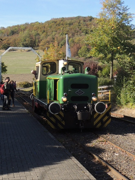 Lok D 2 der Vulkaneifelbahn