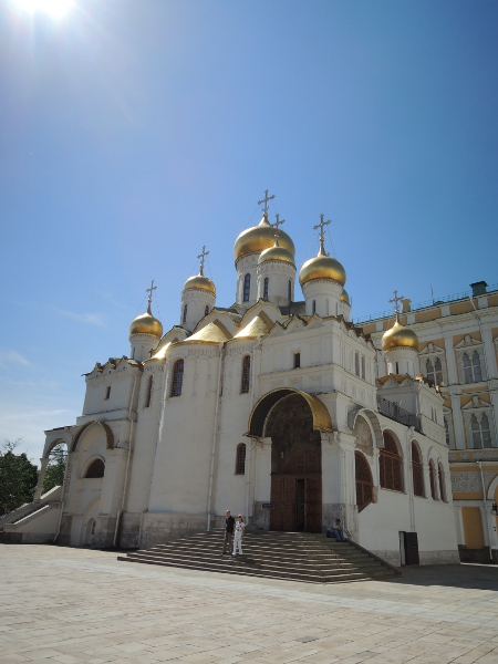 Verkündigungs-Kathedrale im Moskauer Kreml
