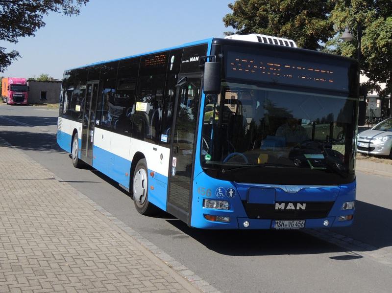 MAN-Bus der VGS Südharzlinie