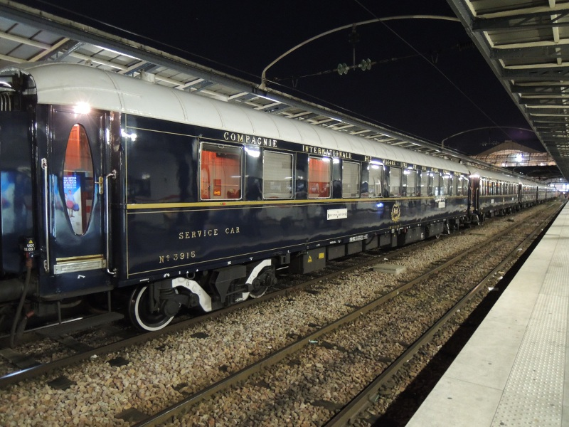 VSOE-Wagen im Gare de l'Est