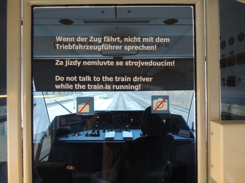 Fotoverbot-Piktogramm in Waldbahn-Zug