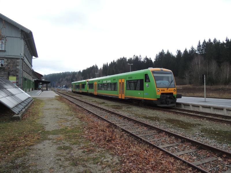 Waldbahnzug in Bayerisch Eisenstein
