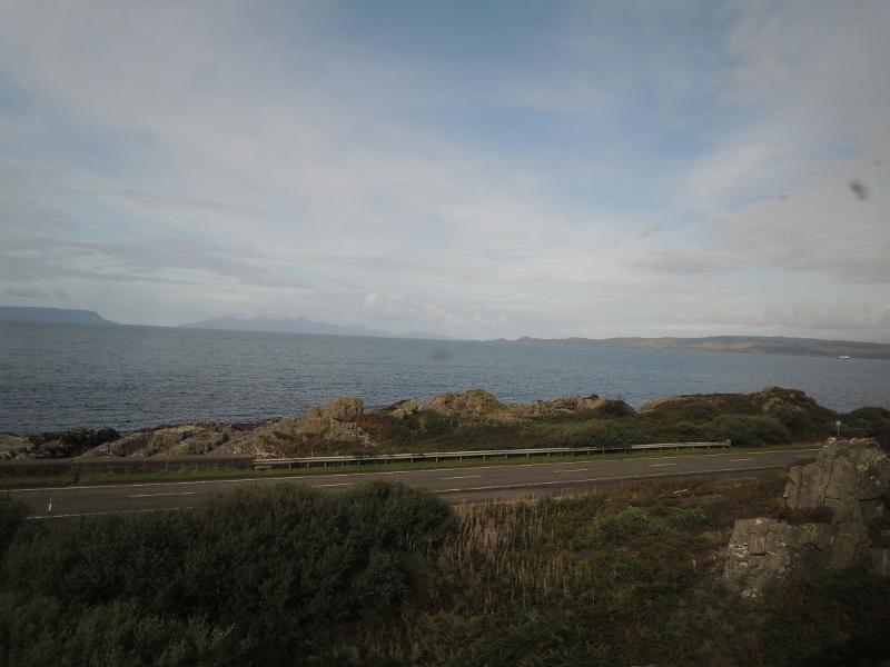 An der West Highland Line bei Mallaig