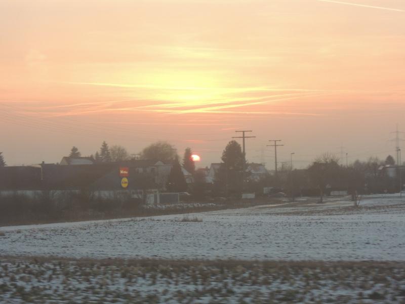Wintersonne über Oberfranken