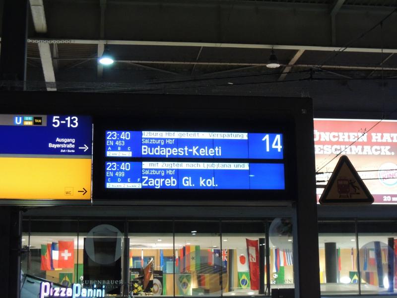 Ice Treff Mit Dem Nachtzug Nach Budapest Ein Reisebericht